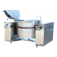 Wholesale 150L 100L 200L Electric Tilting Full Steam Jacketed Kettle 3PH / 380V 10kw 15KW 25KW from china suppliers