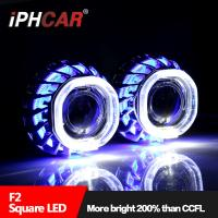 Wholesale IPHCARDual Led Angel Eye Double Angel Eye Car Spart Led Halo Ring Led light Bulb for Car Universal for Any Car Headlight from china suppliers