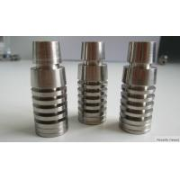 Wholesale High Quality 2 in 1 Adjustable Domeless Titanium Nail 14&18mm Male and Female Smoking Pipe from china suppliers