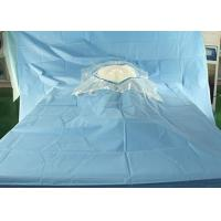 China Hospital Sterile Surgical Drapes Cesarean Delivery Fenestration With Surgical Film on sale
