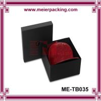 Wholesale Small/medium/large paper box, printed black hat packaging box ME-TB035 from china suppliers