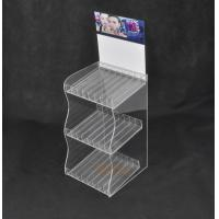 Wholesale Lipstick 3 Tier Acrylic Display Stand With 24 Compartments Simple Design from china suppliers