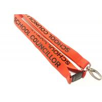 Quality Egg Hook Custom Polyester Lanyards Promotional Gift 900*20mm For Any Events for sale