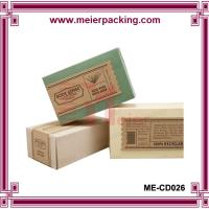 Wholesale Logo Printed Kraft Paper Soap Box/Elegant Design Handmade Soap Packaging Box ME-CD026 from china suppliers