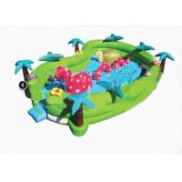 Wholesale Safety Jungel Seaworld Adventure Inflatable Toddler Playground 24ft x 16ft x 6ft from china suppliers