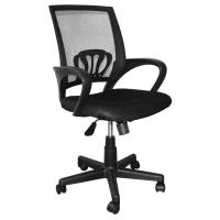 Wholesale 9KG Swivel Office Chairs With Wheels, High Back Computer ChairWith Lumbar Support from china suppliers