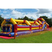 Wholesale Popular Bouncy Obstacle Course Race World Championship With PVC from china suppliers