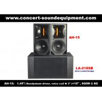 China 600W Line Array Speaker , 1.4 + 15 Full Range Speaker For Concert , Living Event And Fixed Installation on sale