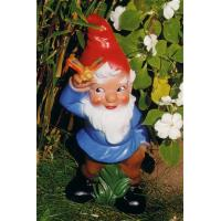 Wholesale Happy guitar player resin garden gnome figure from china suppliers