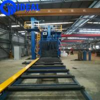Quality Industrial equipment automatic metal / coil material shot blasting machine with converyor for sale