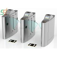 Wholesale IR Sensor Intelligent Security Flap Gate Turnstile Metro Barrier System from china suppliers