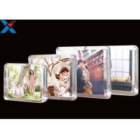 Wholesale Clear Magnet Acrylic Photo Frame PMMA Certificate Pictures Table Frame from china suppliers