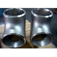 China 304 Stainless Steel 90 Degree Elbow , Butt Weld Fittings ASTM Standard on sale