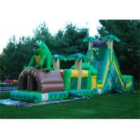 Wholesale Interesting Frog Inflatable Obstacle Course , Outdoor Playground Obstacle Course For Kids from china suppliers