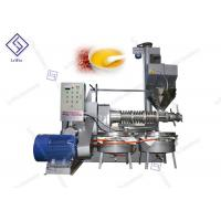 China Automatic Commercial Peanut Screw Oil Press Machine High Oil Yield Low Noise for sale