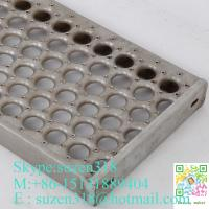 Wholesale aluminum steel catwalk  /  anti-skid grip trut metal flooring from china suppliers