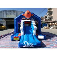 Bouncy Castle With Slide Combo Jumper For Inflatable Games for sale