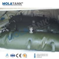 China Molatank 200 gallon flexible fuel/oil storage bladder container tank for boat/ yacht/ airplant on sale