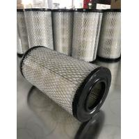 China Cylindrical Vacuum Pump Filter Element , Lightweight Vacuum Pump Intake Filter for sale