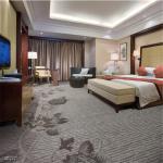 China Grey Modern Home Carpet Tufted Flower Pattern Polypropylene Material for sale