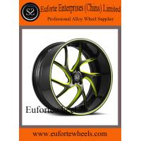 Wholesale Black and Red Forged Custom Wheels 13 - 15KG 20 Inch Car Rims from china suppliers