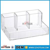 Wholesale wholesale Desk Stationery With Pen Holder acrylic Office Desk Organizer from china suppliers