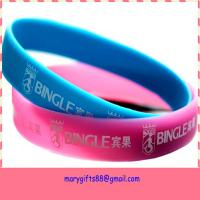 2014 New Promotional Products Novelty Items Silicone Wristbands for sale