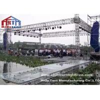 Wholesale Wedding Party Aluminum Stage Truss , Global Aluminum Square Truss Electronic Hoist from china suppliers