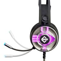 Wholesale AJAZZ AX360 3.5mm Stereo Gaming Headset On Ear Headphones with Microphone Noise Canceling Colorful LED Lights Volume Con from china suppliers