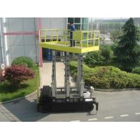 Quality Six Mast 12m Self Propelled Aerial Lift 400kg Capacity With Big Platform for sale