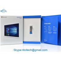 China Win 10 Microsoft Computer Operating Systems 64 Bit Home OEM Pack For Laptop / Desktop on sale