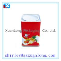 Wholesale square metal gift candy tin can box from china suppliers