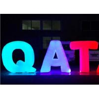 Wholesale Letter Decoration Inflatable Advertising Products Oxford Cloth For Stage Event from china suppliers