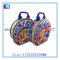 Wholesale High quality Lunch tin box with handle from china suppliers