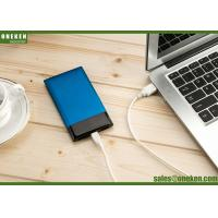Wholesale Ultra Thin 6000mah Li-ion Polymer Battery Portable Charger Power Bank from china suppliers