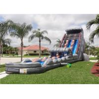 Wholesale Commercial Inflatable Water Slides , Giant Water Slides For Party Rentals from china suppliers