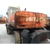 Quality EX160WD USED HITACHI EX160WD WHEEL EXCAVATOR FOR SALE ORIGINAL JAPAN for sale