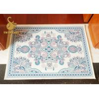 Wholesale Modern White Indoor Area Rugs / 3D Printed Home Decor Carpet from china suppliers
