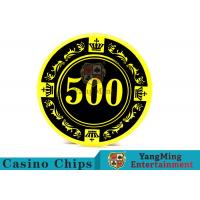 Wholesale 12g Colorful Casino Quality Poker Chips With Crown Screen Convenient To Carry from china suppliers