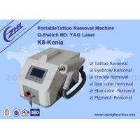 1-5HZ Portable Q Switch ND YAG 1064nm / 532nm Tattoo Removal Machine for sale