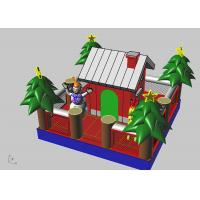 Wholesale Inflatable Christmas Tree / House Children Inflatable Jumping Castle For Kids from china suppliers