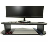 Wholesale Oval Shape Computer Monitor Riser Customized Color With Cut - Out Slots from china suppliers