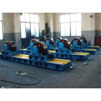Buy cheap Bolt Adjustment Conventional Tank Turning Rolls with Double Motor ,  60 Ton Tank Turning Rolls from Wholesalers