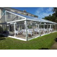 Wholesale UV Resistant Clear Fabric Cover Wedding Marquee Buildings With Aluminum Profile from china suppliers