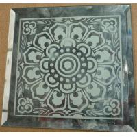 Buy cheap Graven mirror decorative art mirrors flower glass from wholesalers