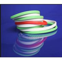 China Food Grade Extruded Silicone Seal Ring No Smell For Food Container Sealing on sale