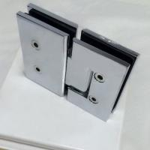 "Glass cut -cut ""C"" hole brass chrome plated shower door hinge"