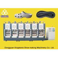 Wholesale One Color EVA Shoe Sole Making Machine Six Stations With 100-120 Pairs / Hour from china suppliers
