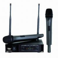 Wholesale UHF 2-channel Wireless Microphones from china suppliers