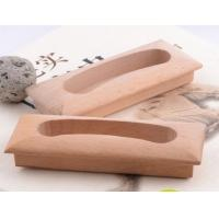 Wholesale Wood furniture handle beech wood handle knob well polished from china suppliers